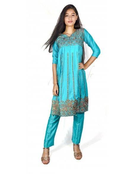Salwar Kameez fille ( robe pantalon )