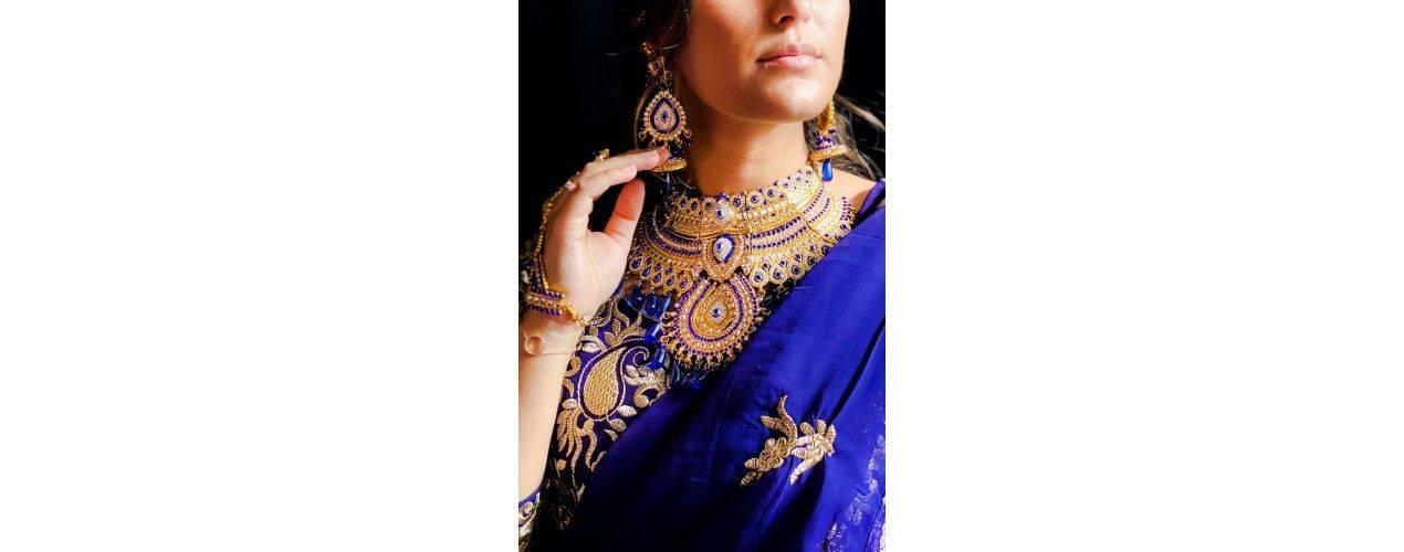 Bijoux indiens bollywood dore