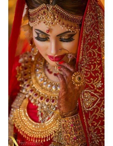 Parure indienne mariage (mariée)