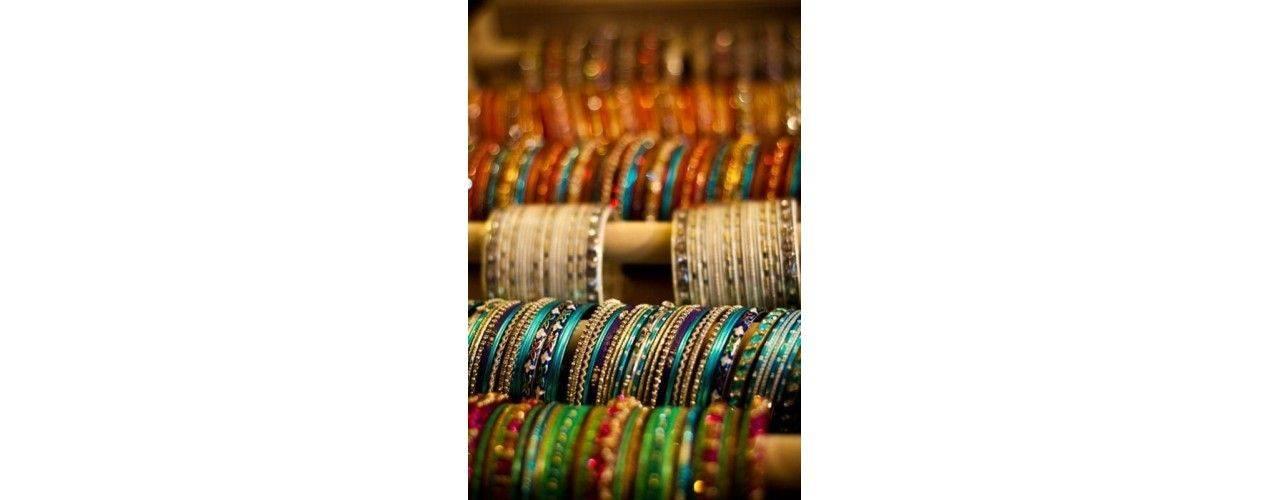 Bangles bijoux indiens bracelets traditionnel sari - missindya