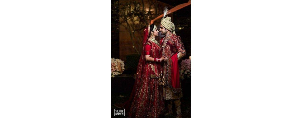 Lehenga sari en pack pour mariage - missindya