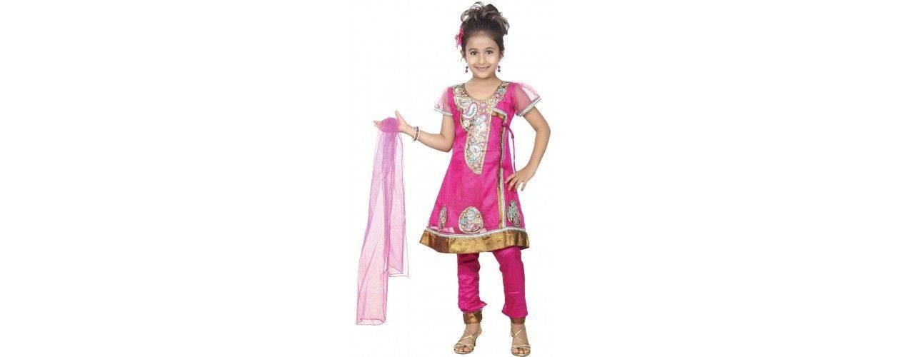 Tenue indienne Fille : Sari indiens fille, Salwar Kameez, Tuniques