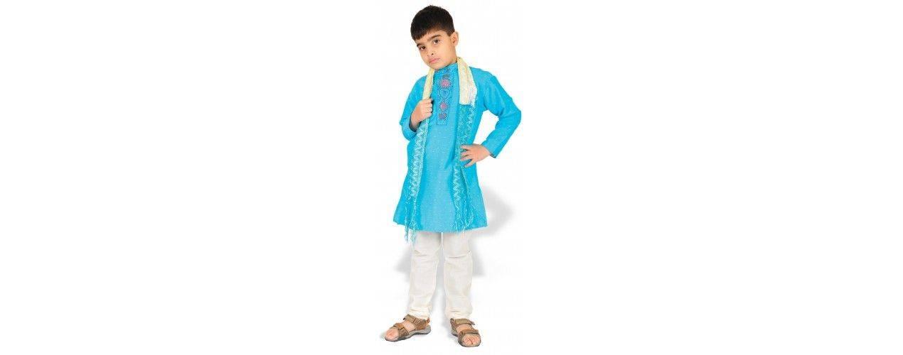 Tenue indien garçon ( sherwani, kurta )