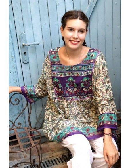Tunique indienne - kurti ethnique