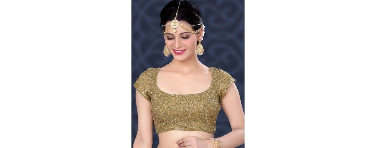Choli haut sari Indien