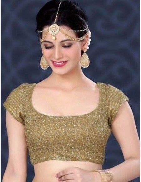 CHOLI ( bustier sari )